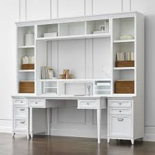 white home office. White Modular Home Office Furniture Design I