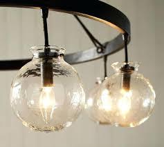 light globes for chandelier scroll to next item sculptural glass globe 3 light chandelier
