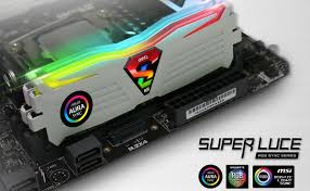 Mystic Light Party Geils Super Luce Rgb Sync Ddr4 Now Supports 3rd Party