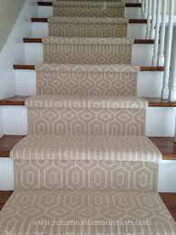 carpet with a stair runner full frontal 3