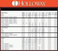 Holloway Apparel Size Chart Sizing Charts Eagle Graphics Llc