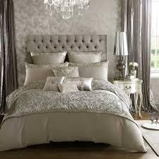 kylie minogue alexa silver double 7 piece bedding set