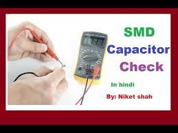 how to check smd capacitor with