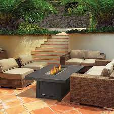 Napoleon St Tropez Rectangle Patioflame Fire Pit Table Woodlanddirect Com Outdoor Fireplaces Fire Pits Gas Outdoor Patio Decor Patio Design Patio