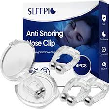 Sleepic Anti <b>Snoring</b> Clip, <b>Silicone</b> Magnetic <b>Snore Stopper</b>, Anti