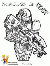 Small Picture Free Halo Reach Coloring Pages Halo Coloring Pages Halo 3 Coloring