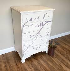 tall white dresser  baby nursery furniture  vintage home