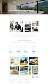 Property Management Company Website Builder Responsive Moto Cms 3