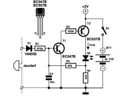 doorbell memory circuit diagram eeweb community doorbell memory circuit schematic