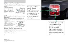 ford flex sel i have a 2009 ford flex the sidemarker lamp 2010 Ford Flex Fuse Box Diagram lamp when the car is in reverse it obviously is getting power when the turn signal is on though i've attached an image i made in powerpoint to help 2010 ford flex fuse box diagram