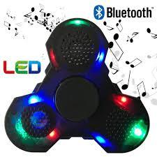 Fidget Spinner With Bluetooth Speaker And Lights Other Games Walking Dead Bluetooth Fidget Spinner Led Lights