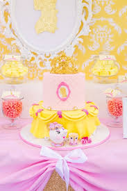 Belle Birthday Decorations Kara's Party Ideas Princess Belle Beauty and the Beast Birthday 35
