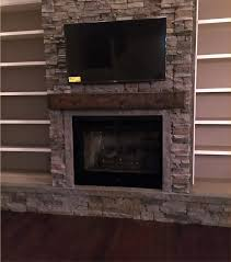 view larger image faux stone fireplace surround kits