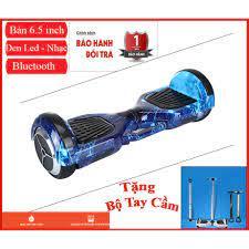 Xe điện cân bằng   Xe tự cân bằng   Bánh xe cỡ lớn - 6.5 ich   Tải trọng  lên tới 80kg   Âm nhạc - Bluetooth giá cạnh tranh