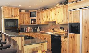 Denver Hickory Kitchen Cabinets Kitchens With Hickory Cabinets