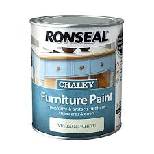 furniture paintRonseal Chalky Furniture Paint  Dove Grey 750ml  Wickescouk