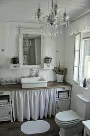 shabby chic bathroom bathroom. Shabby Chic Bathroom Design With Ruffle Details B