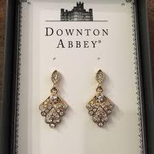 downton abbey earrings nwt gift item jewelry