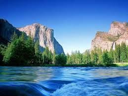 Beautiful River Mountain View Hd ...