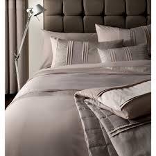 textured jacquard beige cotton duvet cover set