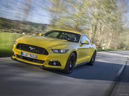 2015 Ford Mustang Coupe V8 Triple Yellow (Euro-Spec) - Front | HD ...