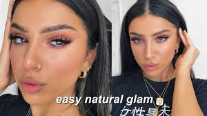 fresh glowy spring makeup tutorial easy natural glam