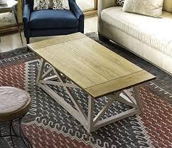 Introducing saracina home's farmhouse coffee table. Posh Pollen Finley Two Tone Coastal Style Coffee Table Farmhouse Goals