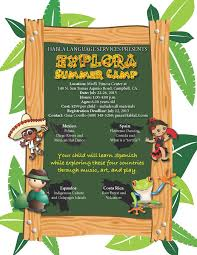 Explora Spanish Summer Camp For Kids In Campbell Ca Habla