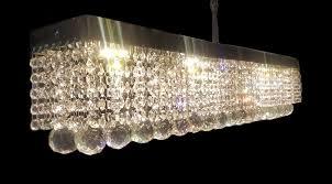 customize rectangular shape crystal pendant chandelier