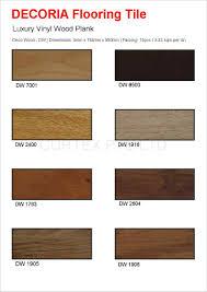 decoria luxury vinyl wood plank deco wood dw vinyl tile card 1