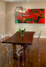 innovative interior architecture decoration the best of lucite ghost chairs at acrylic dining eclectic room