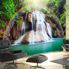 Wallpaper Waterfall Of Fulfilled Wishes Fruugo