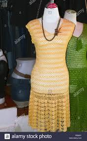 Crochet Garment Design Crochet Design Traditional Clothes Thailand Wear Stock Photo