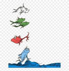 suess wisdom one fish two fish red fish blue fish gif