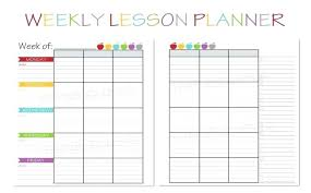 Week At A Glance Calendar Template Week At A Glance Template Ransjournal Com