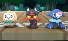 Pokemon Sun Moon Starters Guide Starter Stats Moves