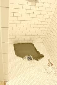 a shower floor tale
