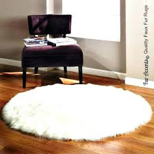 small faux fur rugs faux fur white rug round rug faux sheepskin white impressive com small faux fur rugs white