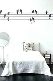 Bird Themed Home Decor Bird Bedroom Decor Birds On A Wall Sticker A Bedroom  Bird Themed