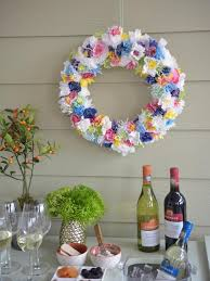 spring wreath for front doorSpring Wreaths  How to Make a Spring Wreath for Your Front Door