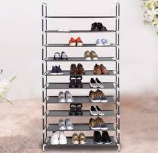 built in shoe rack also elegant nonwoven wardrobes portable simple built closet solid dustproof