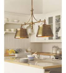 visual comfort chc 5102ab ab e f chapman traditional sloane double pendant in antique burnished brass with antique burnished brass shades