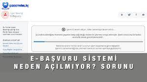 E-Başvuru Sistemi Çalışmıyor, Girilmiyor, Açılmıyor Sorunu ve Çözümü    EgeEtkinl