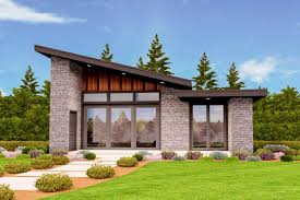 Architectural Designs For Small Houses Plan 85137ms Exclusive Tiny Modern House Plan With Alternate Exteriors