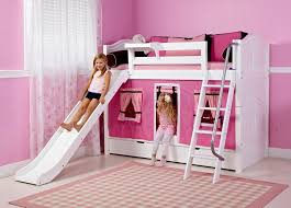 girls bunk with slide