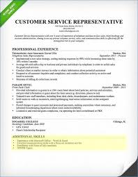Job Resume Outline Resume Example