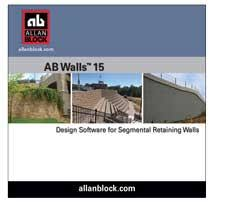 Small Picture AB Walls Design Software For Segmental Retaining Wall Designs