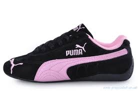 puma shoes pink and black. black and pink puma shoes f