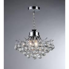 Arden Victorian 3 Light Crystal Chrome Chandelier Warehouse Of Tiffany Boadicea 3 Light Crystal Chrome