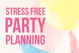 Stress Free Party Planning I Heart Planners